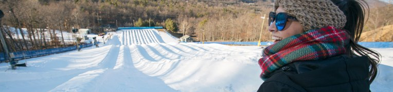 Snow Tubing at Massanutten Family Adventure Park