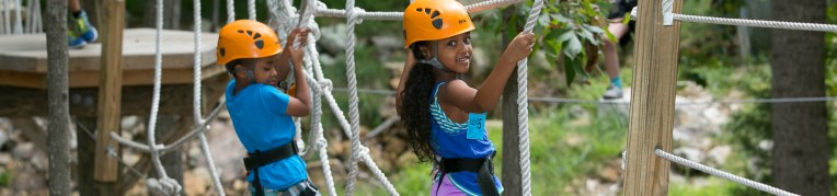The Kid's Adventure Course at Massanutten Resort