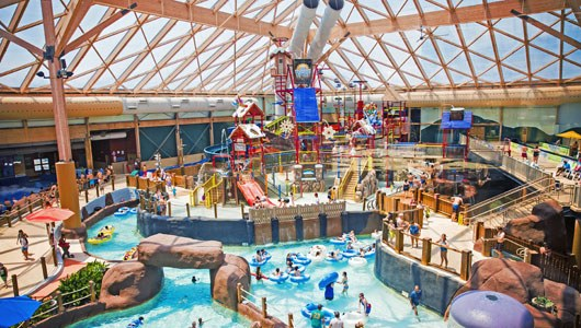 Indoor water park & pool