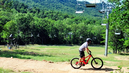 Mountain Biking at Massanutten Resort
