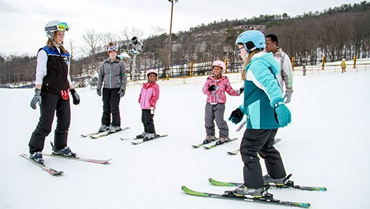 Snow Sports Lessons at Massanutten Resort