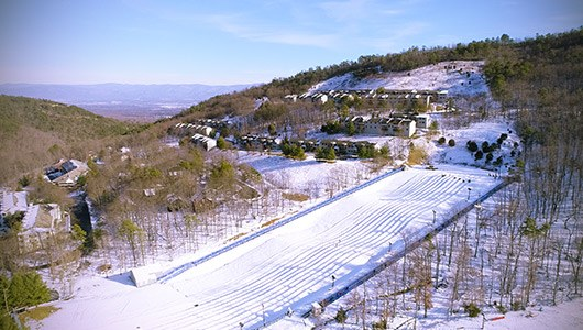 Snow Tubing at Massanutten Resort