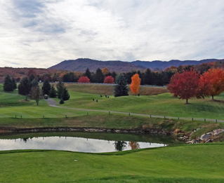 Woodstone Meadows Golf Course in the fall
