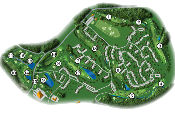 woodstone course map