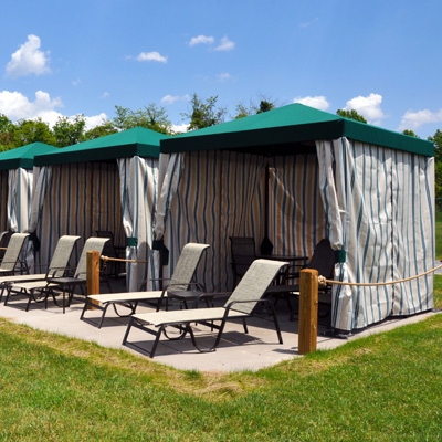 Cabanas at the Outdoor WaterPark