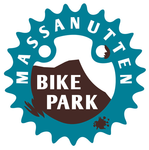 Mountain Bike Park. Bike Park Logo