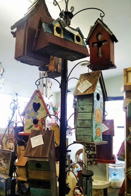 birdhouses for sale in store