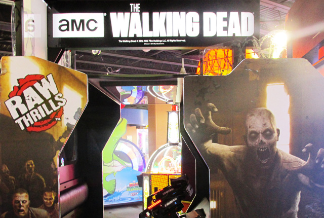The Walking Dead Arcade Game