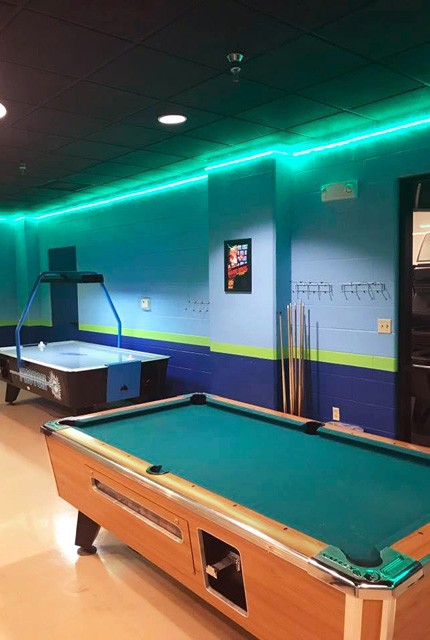 Woodstone Recreation Center Game Room